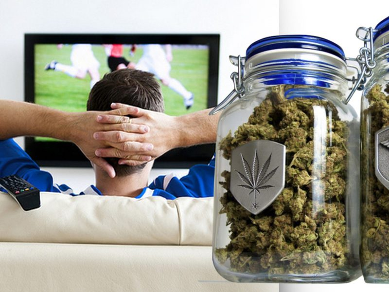 Odmiany marihuany, które umilą oglądanie meczu sportowego