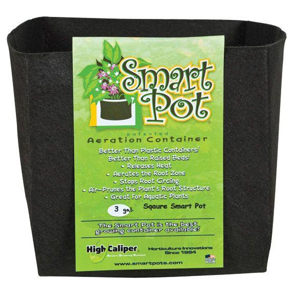 Smart Pot to doniczka materiałowa, która pomaga przy podlewaniu konopi