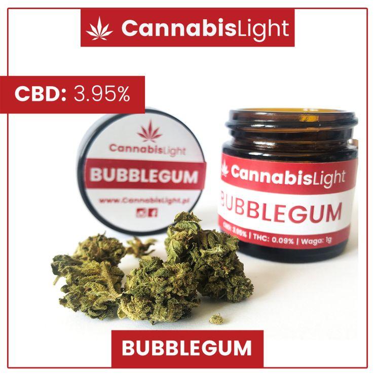 Susz CBD wysokiej jakości - Bubblegum CBD