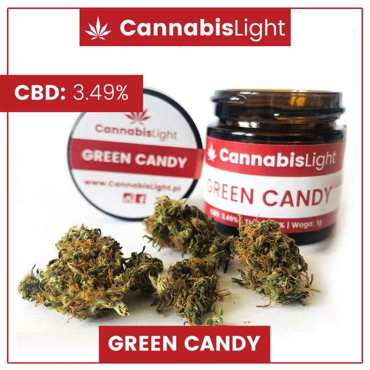 Green Candy - susz CBD do palenia